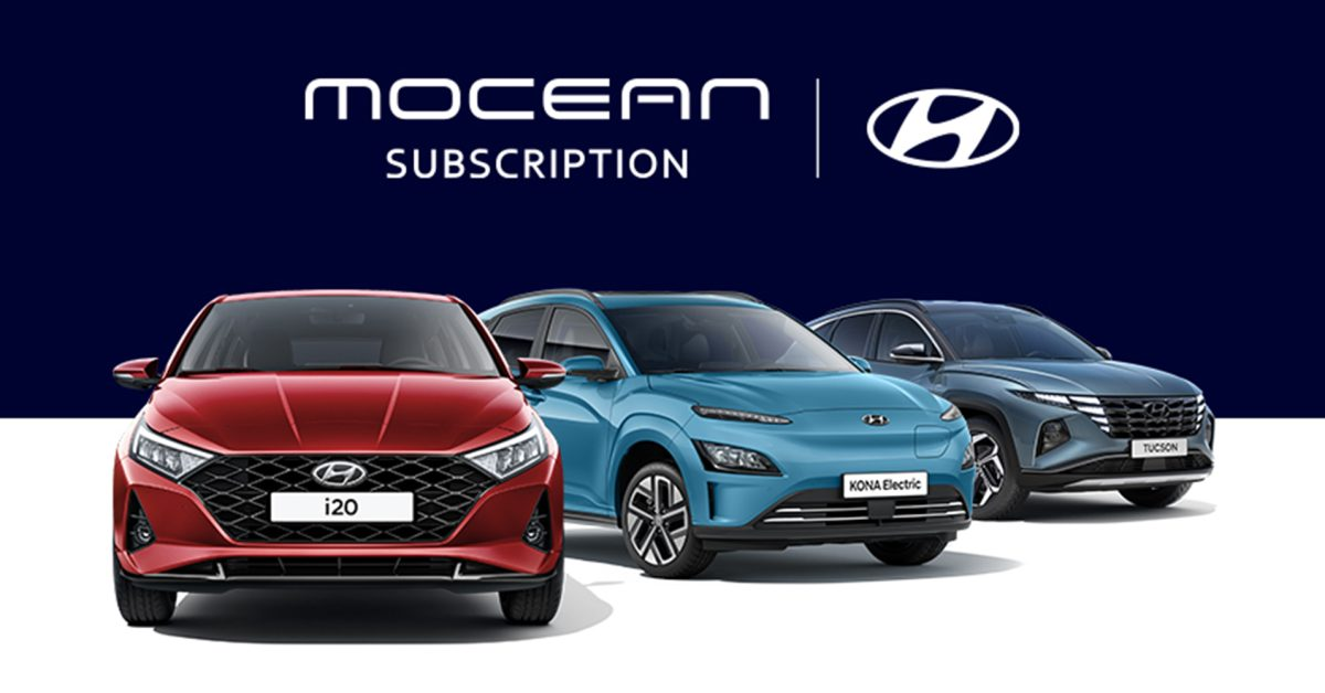 Hyundai launches Mocean EV subscription service in UK, starting at £339 a month