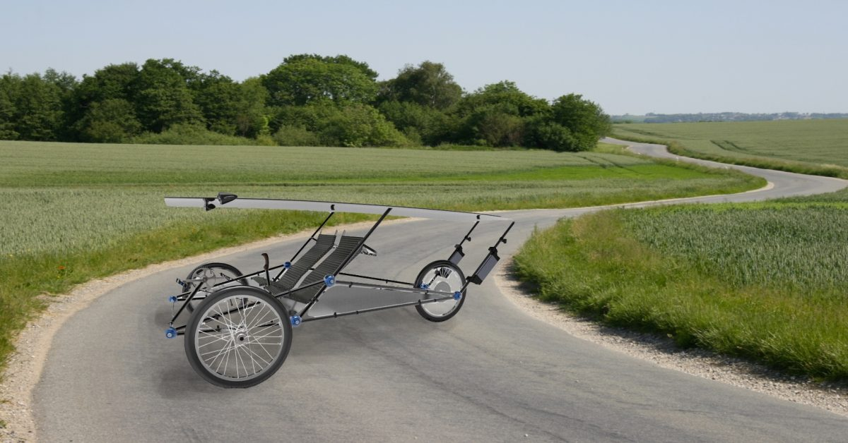 Awesomely Weird Alibaba EV of the Week: Solar-powered 2-seat e-bike with infinite range