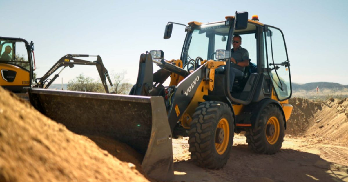 Volvo showcases its electric construction equipment ahead of full rollout in 2022