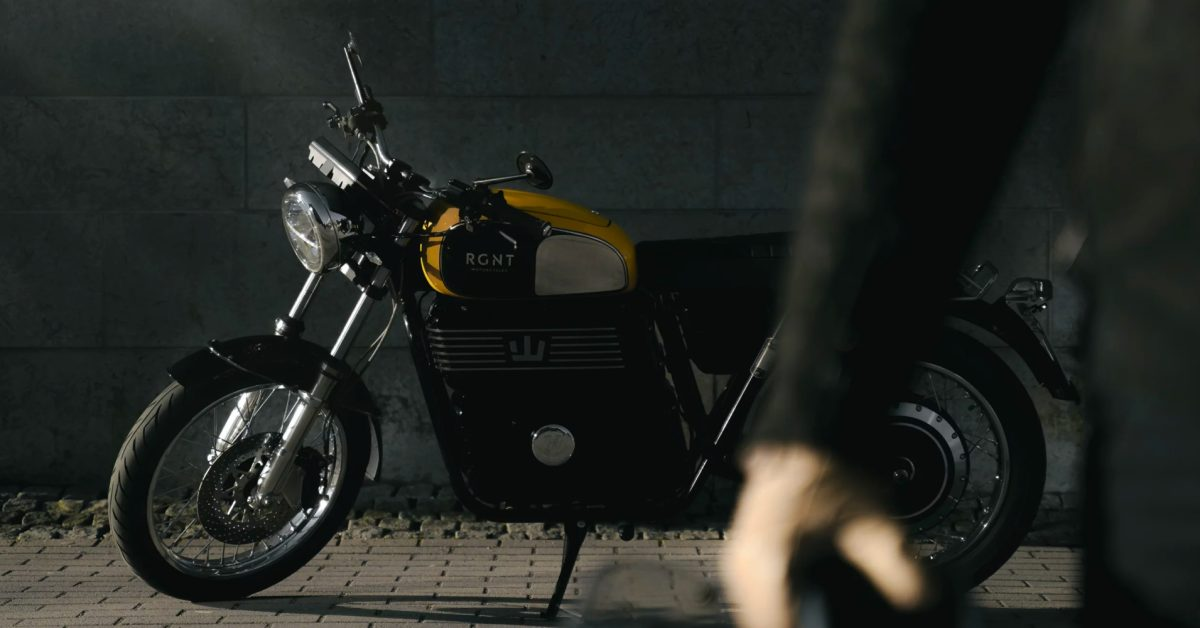 RGNT's eye-catching, retro-styled electric motorcycles now taking orders