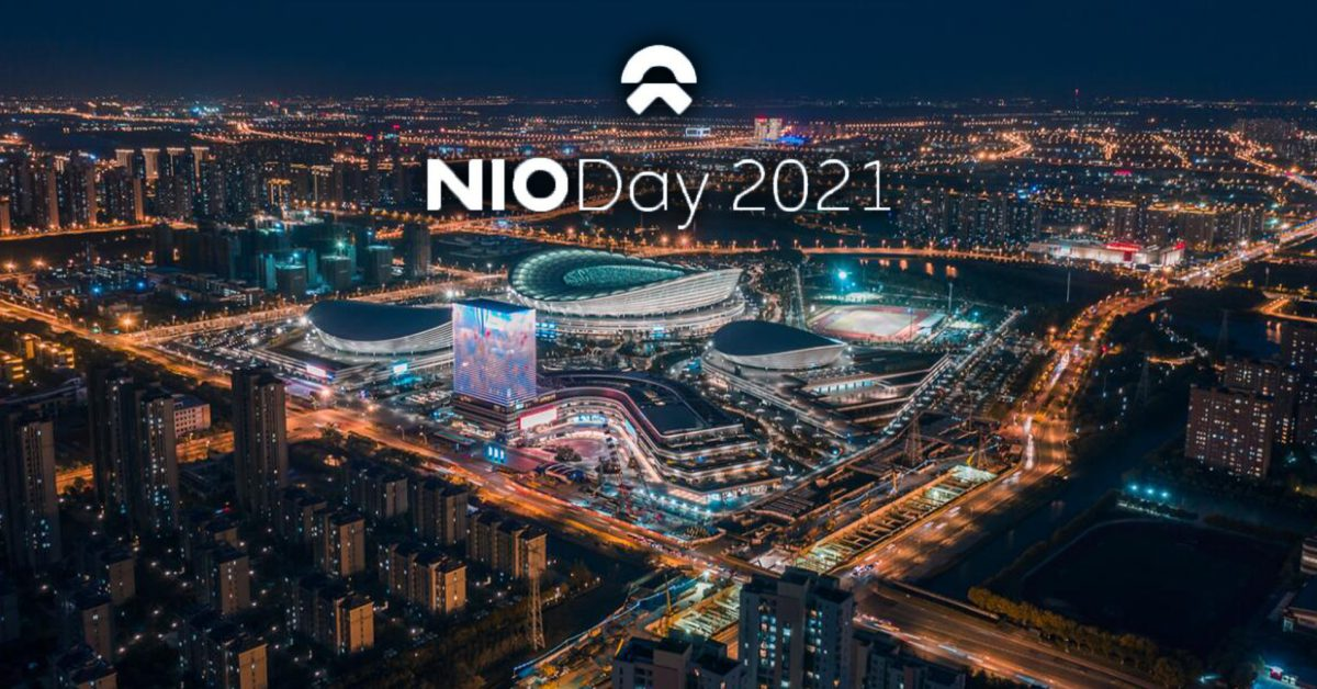 NIO Day 2021 to be held in December amid plenty of new model rumors