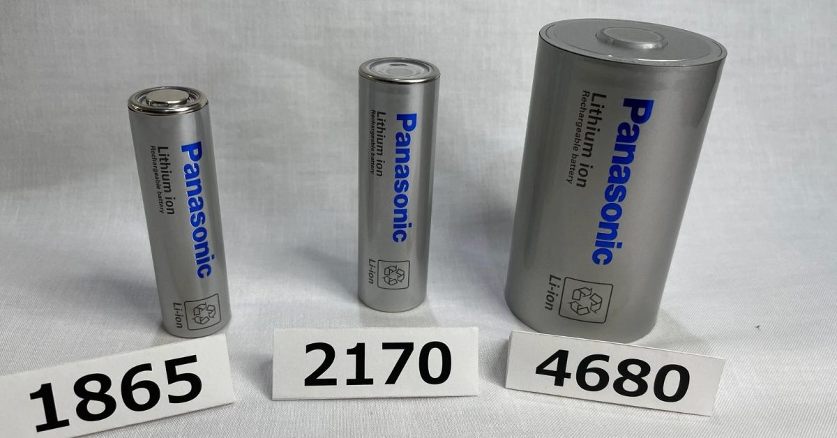 Panasonic unveils its Tesla 4680 battery cell, production to start next year