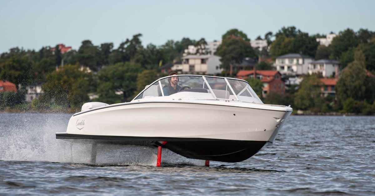 I tested a flying electric boat and it was even cooler than it sounds