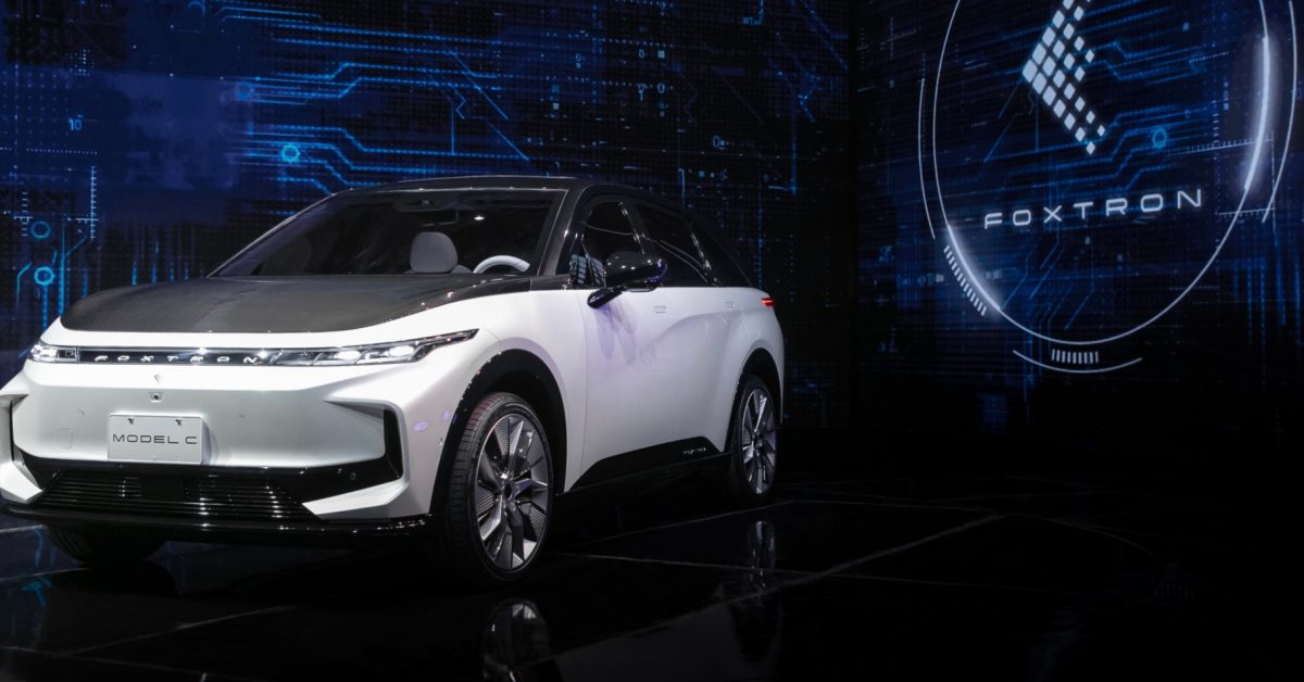 Foxconn unveils 3 new electric vehicles as it is about to build EVs for other brands