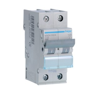 Circuit breaker 32A two poles