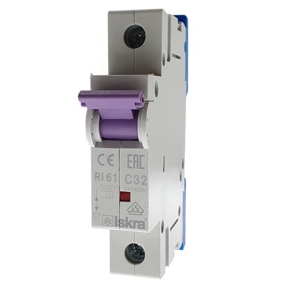 Disjoncteur unipolaire 32A