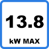 Max 13.8kW 1 - Charging cable for TESLA (13.8kW - Type 2)
