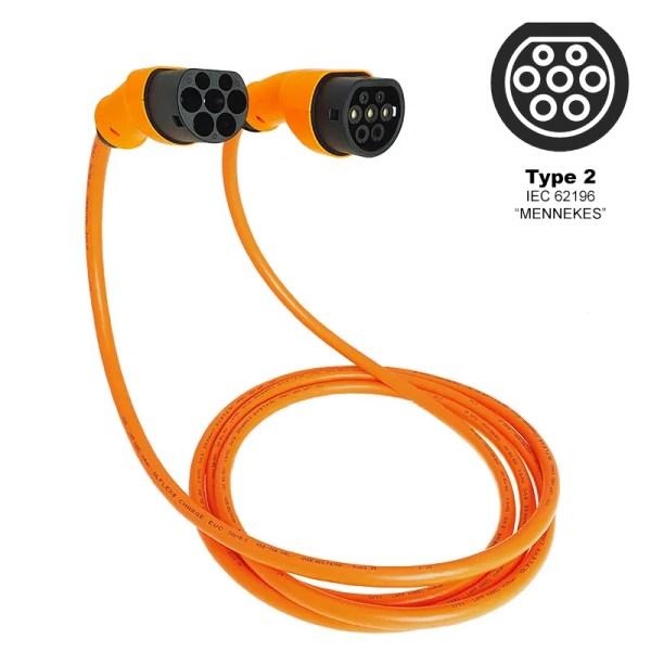 Câble de charge pour véhicule électrique (7,4kW - Type 2)