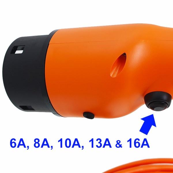 Chargeur portable pour véhicule électrique (11kW - Type 2)