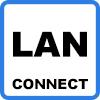 lan connect 1 - Borne de recharge KEBA P30 c-series de 2,3kW à 22kW avec RFID et connectivité LAN - 97925
