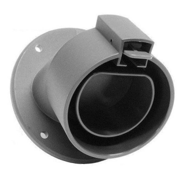 Schuine wandhouder voor Type 2 plug