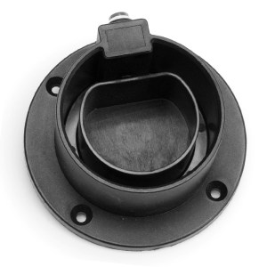 Type 2 plug straight wall holder