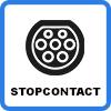 type 2 stopcontact - Duo-oplaadstation (2 x 7.4kW)