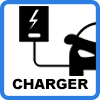 wall charger for electric vehicles - KEBA P30 x-series charging station from 2,3kW to 22kW with RFID and LAN connectivity - 98107