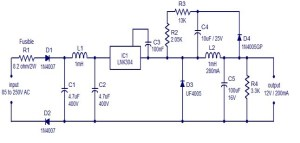 LNK304 based switch mode power supply circuit | Electric