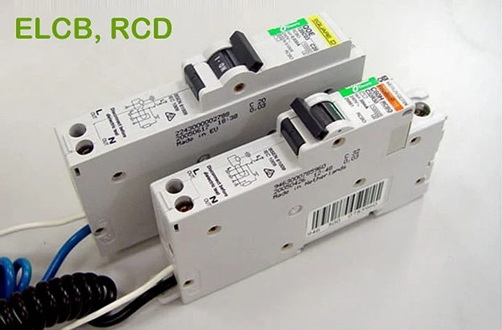 two wire thermostat wiring diagram obd0 to obd1 jumper harness working principle of earth leakage circuit breaker (elcb) and residual current device (rcd)