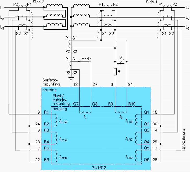 fault block diagram printable teeth transformer differential protection (ansi code 87t)
