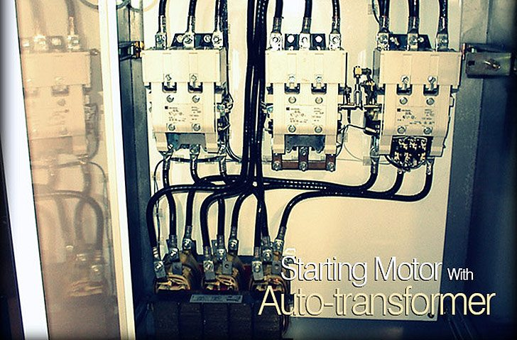 transformer diagram and how it works kti hydraulic pump wiring starting motor with auto-transformer