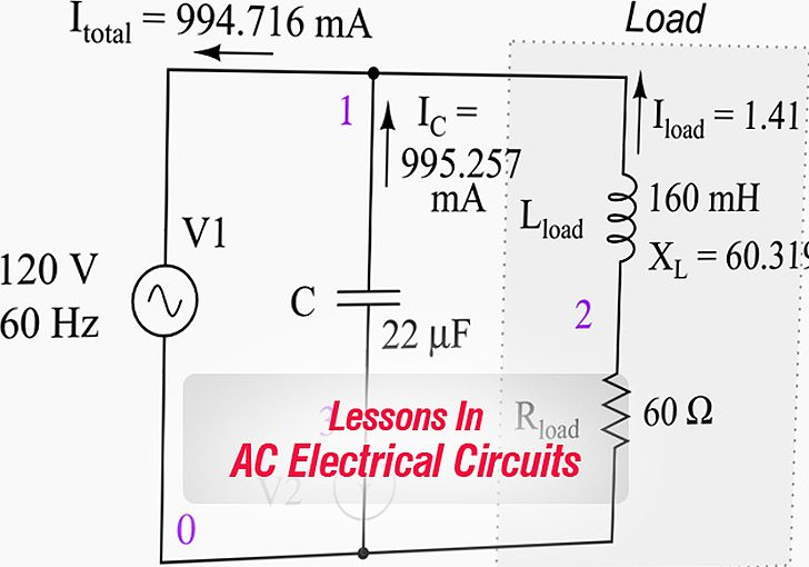 Lessons In AC Electrical Circuits