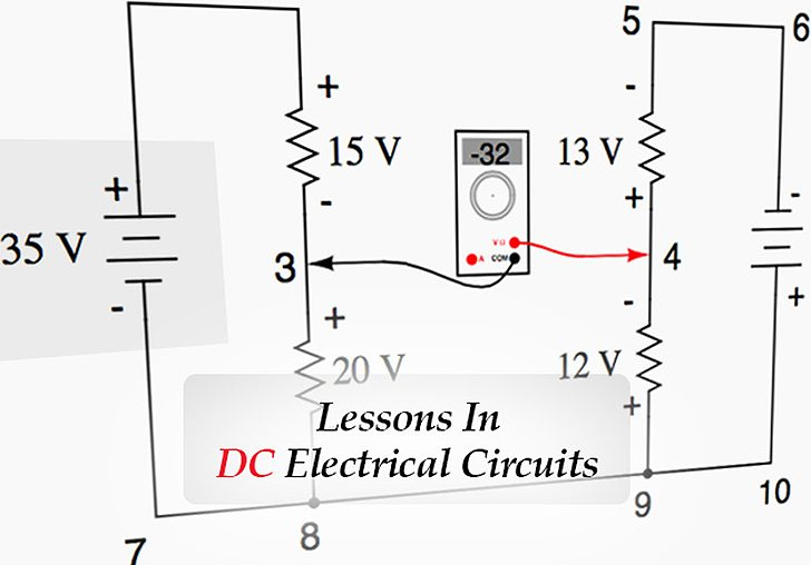Lessons In DC Electrical Circuits