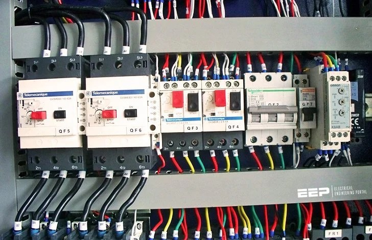 distribution board wiring diagram 3 way switch power to light cable sizing of sub main electrical circuits working examples eep