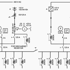 Parallel Circuit Diagram 95 Ford Explorer Ignition Wiring Substation Dc Auxiliary Supply - Battery And Charger Applications | Eep