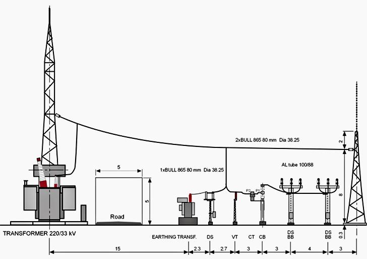electrical drawing transformer