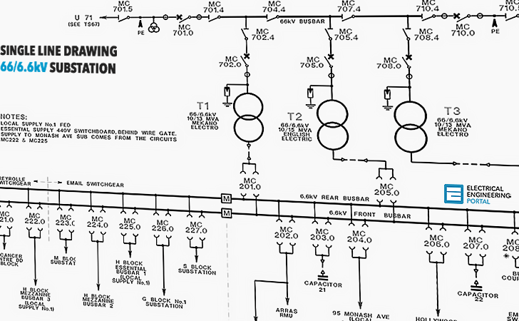 drive isolation transformer wiring diagram chevelle 1970 learn to interpret single line (sld) | eep
