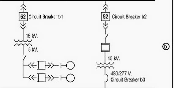 single line diagram of power distribution 3 way lighting wiring learn to interpret sld eep area b