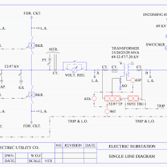 Electrical One Line Diagram Software 99 Civic Headlight Wiring Schematic Representation Of Power System Relaying Eep