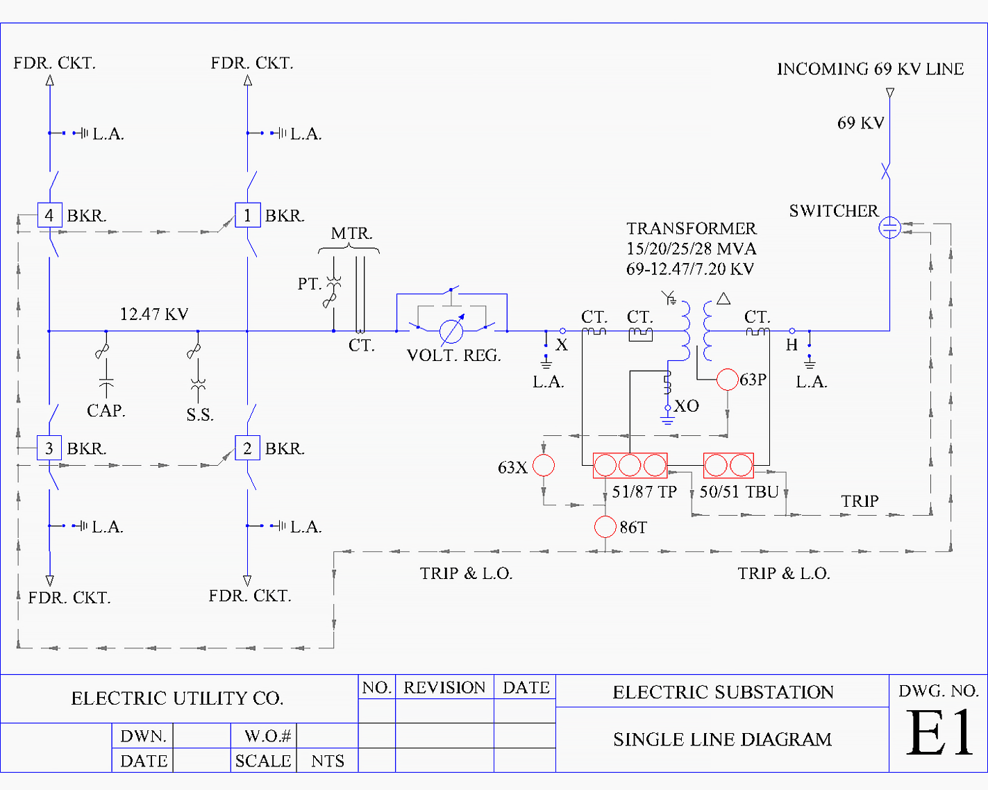 single line diagram of power distribution ford sierra ignition wiring schematic get free image about