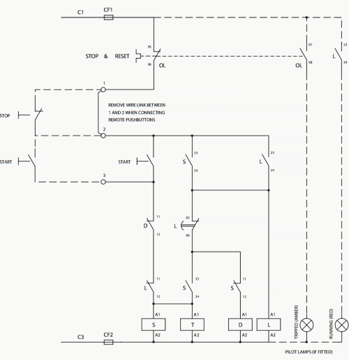 small resolution of wiring diagram of star delta starter