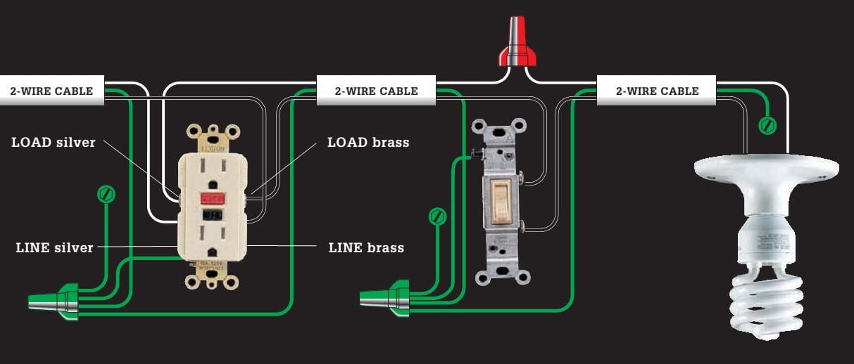 wire diagram for light switch and outlet chevy trailer wiring harness 31 common household circuit wirings you can use your home