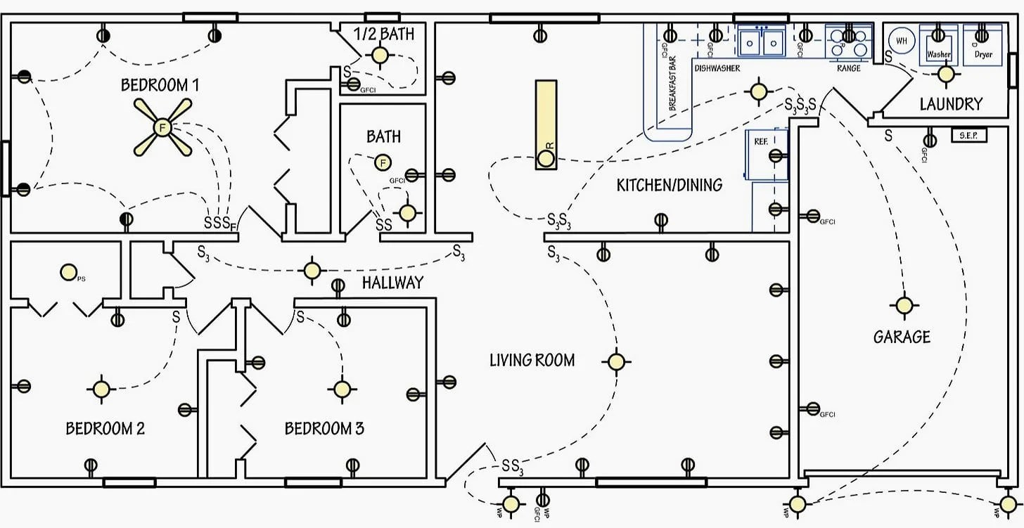 Residential Electrical Wiring Diagrams Pdf On Residential Images