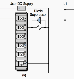 guidelines for plc installation wiring and connection precautions eepsuppression of a a load [ 2159 x 829 Pixel ]