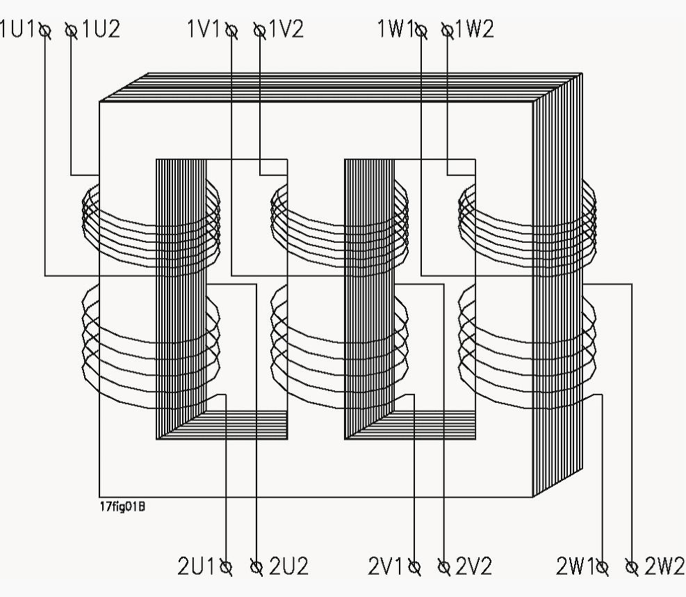 medium resolution of schematic diagram of a three phase transformer