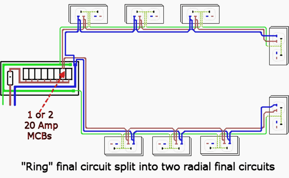 medium resolution of garage electrical wiring diagrams uk