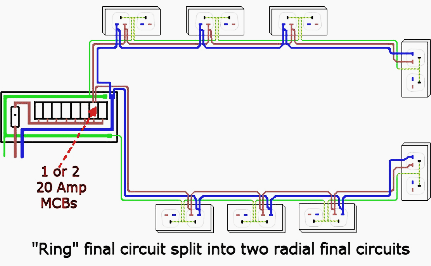 hight resolution of garage electrical wiring diagrams uk