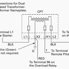 Transformer Wiring Diagrams Three Phase Radio Diagram For 1999 Dodge Ram 2500 Of Control Power Motor