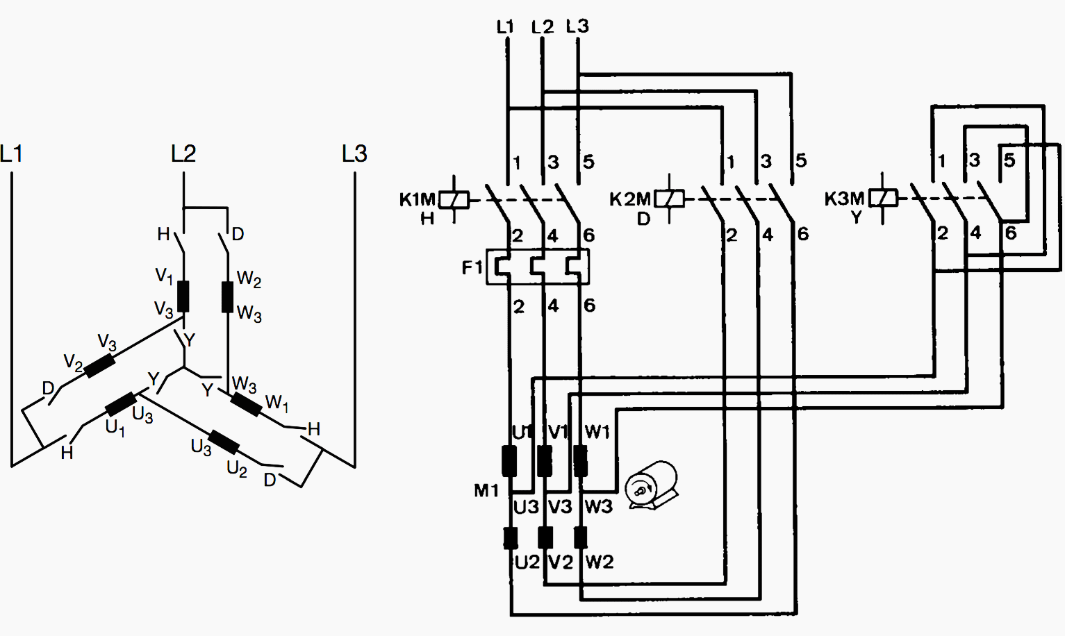 star delta control wiring diagram images logixpro traffic light ladder traditional motor starting method used in