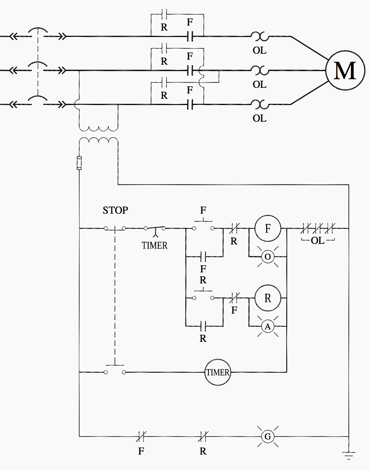 hight resolution of ladder logic for special motor control circuits jogging and motor car diagram motor starter ladder diagram