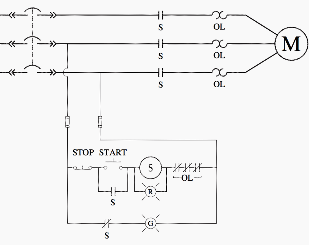 medium resolution of control circuit line voltage