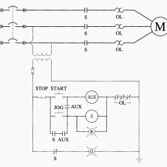 Start Stop Jog Wiring Diagram How To Make A Ladder Logic For Special Motor Control Circuits Jogging