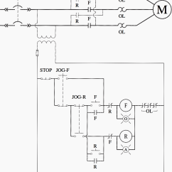 Diagram Motor Control Wiring Hotpoint Tumble Dryer Timer Ladder Logic For Special Circuits Jogging