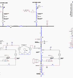 typical single line diagram for generating units above 5mw [ 1791 x 1349 Pixel ]