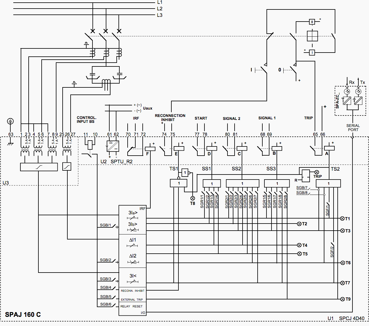 wiring a current relay