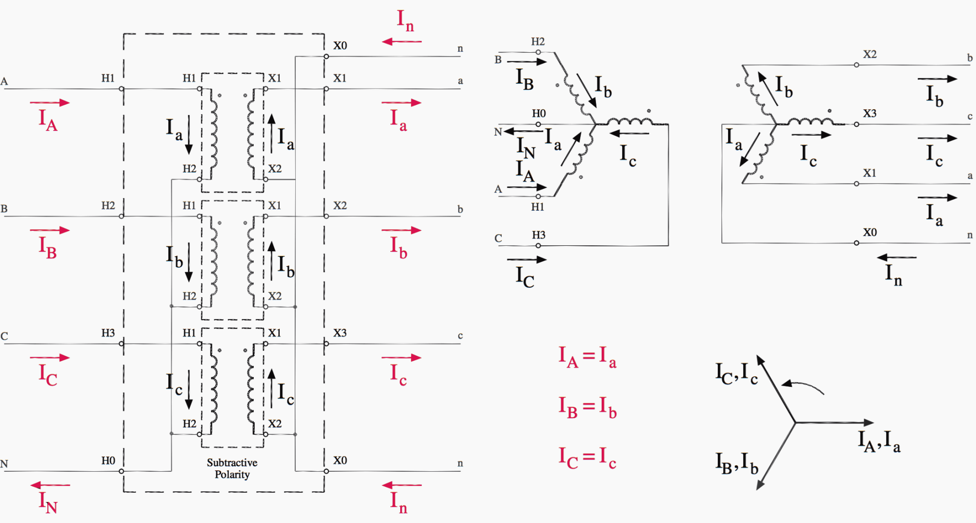 hight resolution of wye wye transformer connections diagram