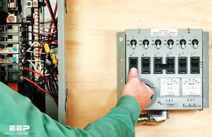 how to wire a generator transfer switch diagram wiring position two lights one uk install manual for backup system in 16 steps