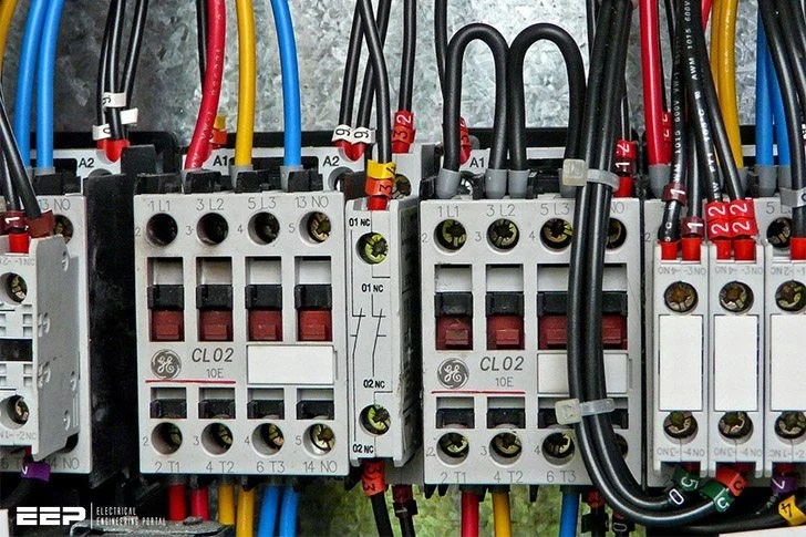 Motor Contactor Wiring Diagram Wiring Further Contactor Relay Wiring