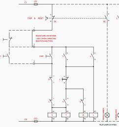 control wiring diagram of star delta starter [ 1035 x 1042 Pixel ]